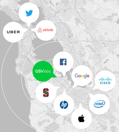 GSV Location in the Silicon Valley