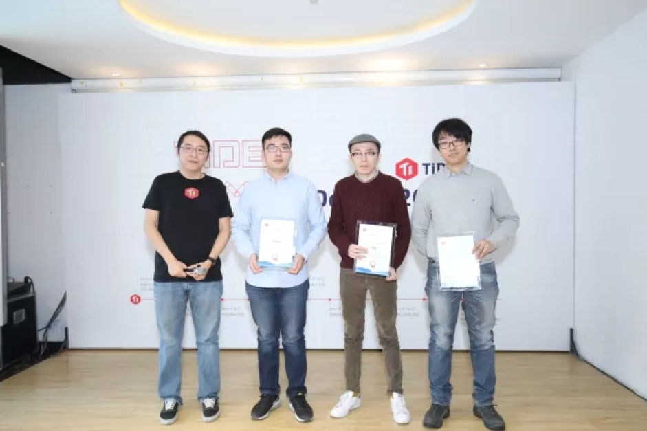 Ed Huang and three contributors
