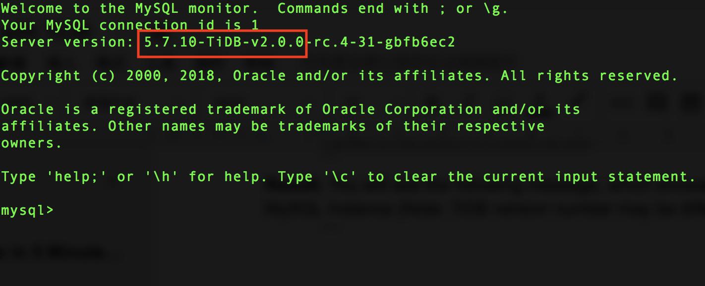 TiDB Compatibility with MySQL