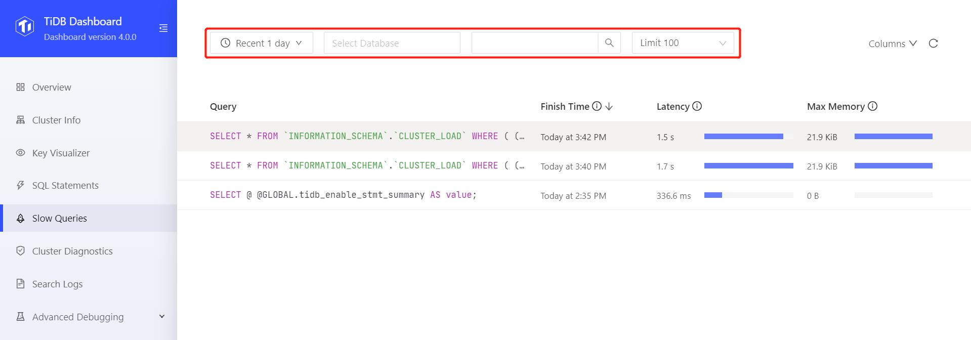 Modify list filters